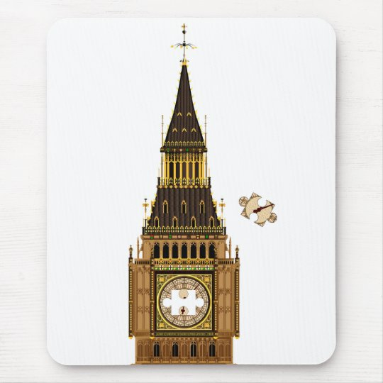 The Missing Piece Mouse Pad