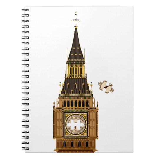The Missing Piece Spiral Notebook