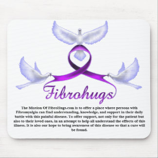The Mission of Fibrohugs Mouse Pad