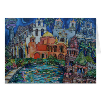 The Missions San Antonio Greeting Card