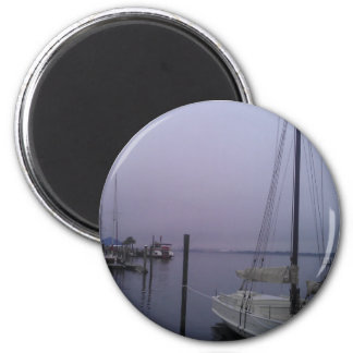 The Misty Bay 2 Inch Round Magnet
