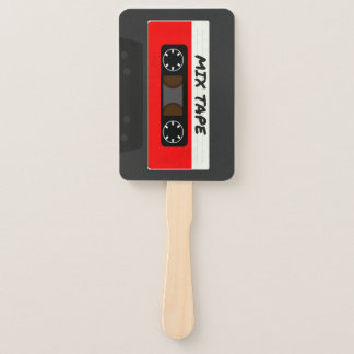 The Mix Tape Hand Fan