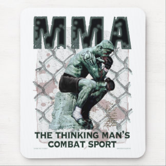 The MMA Thinker Mouse Pad