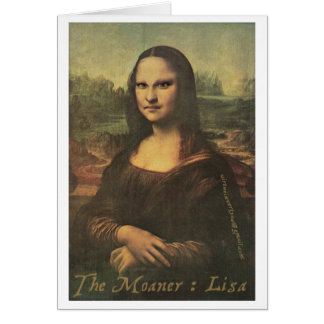 The Moaner : Lisa - Notecard