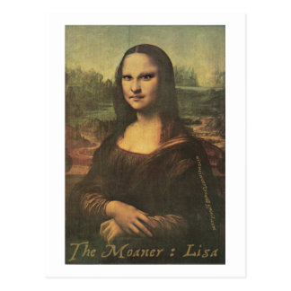 The Moaner : Lisa - Postcard