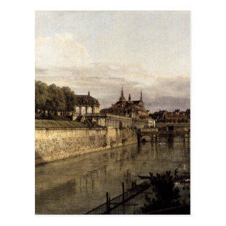 The Moat of the Zwinger in Dresden by Bernardo Postcard