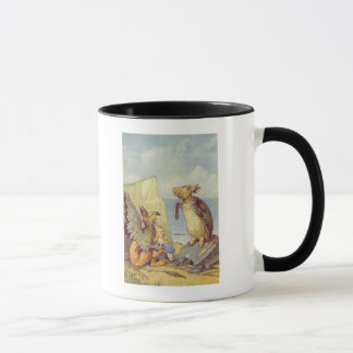 The Mock Turtle and the Gryphon Mug