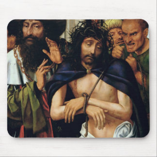 The Mocking of Christ (oil on panel) (see 165461 f Mouse Pad