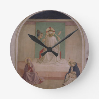The Mocking of Christ with the Virgin and St. Domi Clock