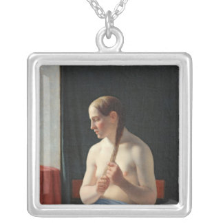 The Model, 1839 Silver Plated Necklace