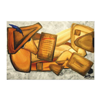 "The Model - 60"" x 40"" Gallery style wall canvas"