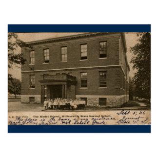 The Model School 1906, Millersville State College Postcard