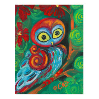 The Modern Painting Owl Art Cards