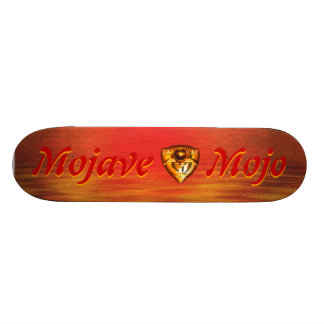 "The ""Mojave Mojo"" Skateboard with logo"