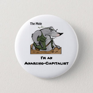 The Mole Anarcho Round Pin