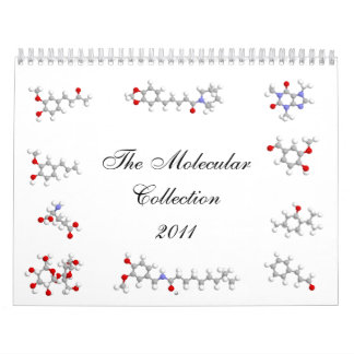 The Molecular Collection 2011 Calendar