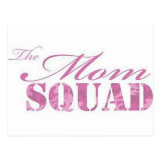 The Mom Squad Selection Postcard