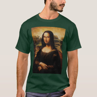 The Mona Lisa by Leonardo Da Vinci T-Shirt