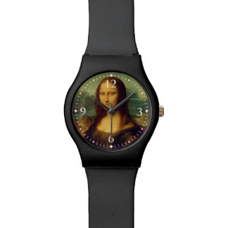 The Mona Lisa By Leonardo Da Vinci Watch