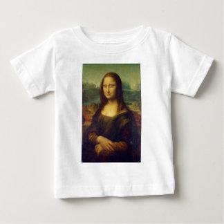 The Mona Lisa La Joconde by Leonardo Da Vinci Baby T-Shirt