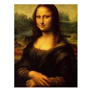 The Mona Lisa Postcard