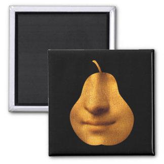 The Mona Lisa's Smile  SquareMagnet Square Magnet