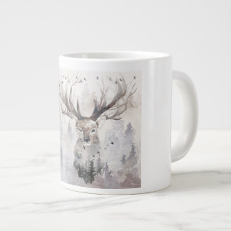 The Monarch of the Glen Large Coffee Mug
