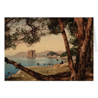 The Monastery of St Honorat, Cannes, France Card