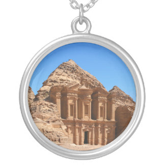 The Monastery Petra Jordan Silver Plated Necklace