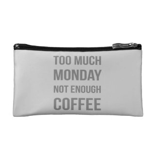 The Monday Quote Makeup Bag