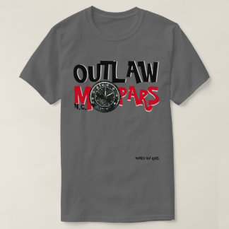 The MONDO T - OUTLAW MOPARS GROUP TEE - Basic Dark