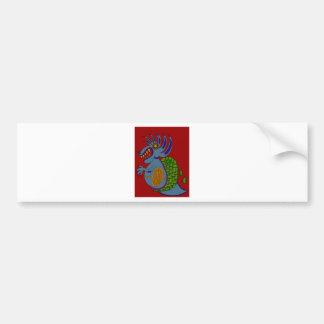 The Money Snail Bumper Sticker