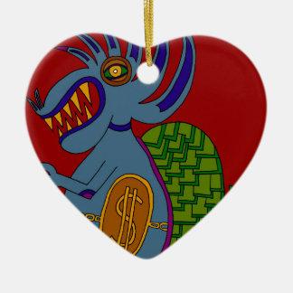 The Money Snail Ceramic Ornament
