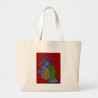 The Money Snail Large Tote Bag