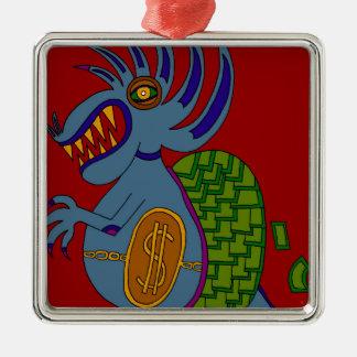 The Money Snail Metal Ornament