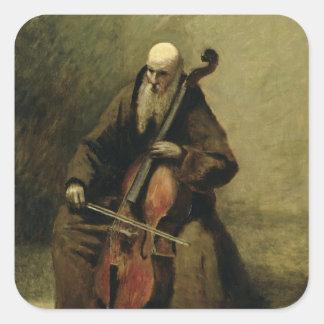 The Monk, 1874 Square Sticker