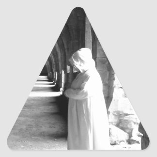 The Monk #1 Triangle Sticker