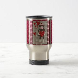 The monkey in-love. coffee mugs
