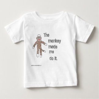The Monkey Made Me Do It. Baby T-Shirt
