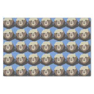 The Monkey Nosed Bear Tissue Paper