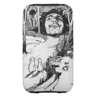 The Monkeys Admired It Greatly Tough iPhone 3 Cover