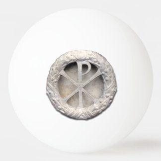 The Monogram of Christ Ping Pong Ball