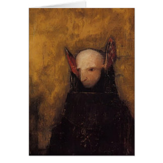 The Monster by Odilon Redon Card