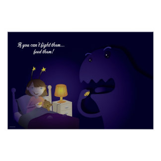 The monsters under your bed poster