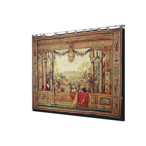 The Month of April/ Chateau of Versailles Canvas Prints