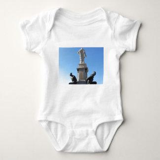 The monument Quattro Mori ( of the Four Moors ) Baby Bodysuit