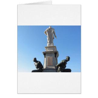 The monument Quattro Mori ( of the Four Moors ) Card