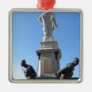The monument Quattro Mori ( of the Four Moors ) Metal Ornament