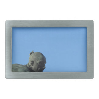 The monument Quattro Mori ( of the Four Moors ) Rectangular Belt Buckle
