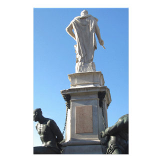 The monument Quattro Mori ( of the Four Moors ) Stationery